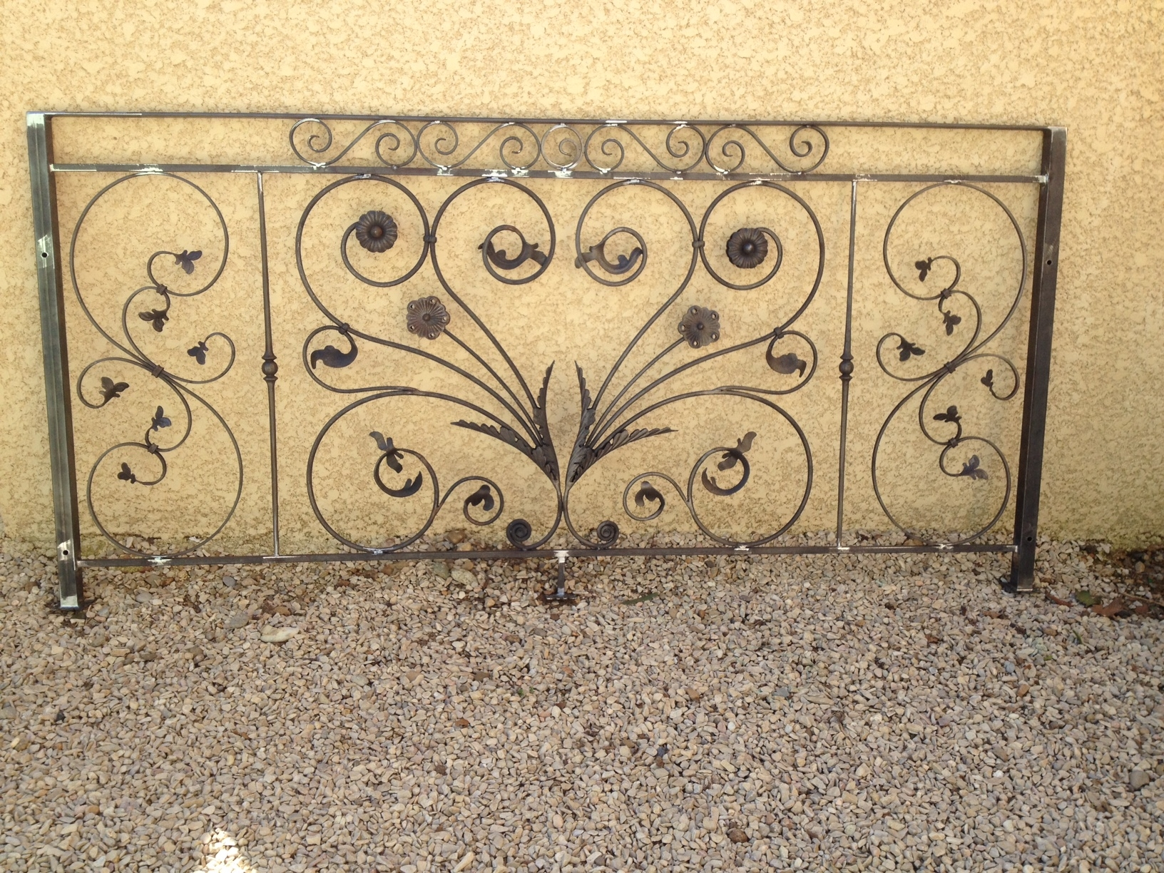 D coration fer forge balcon for Rambarde fer forge