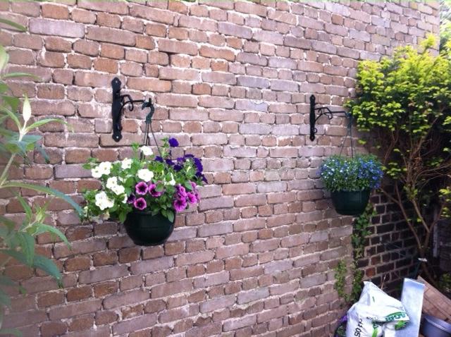 Potences fer forgé de notre gamme pour suspension floral - Localisation Moselle