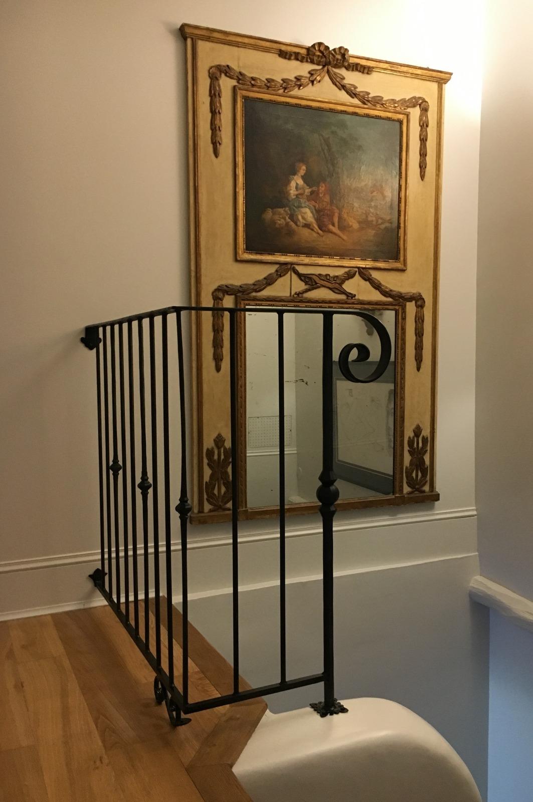 Inspirez vous de la rampe ou du garde corps en fer forg d 39 un client for Peinture sur fer forge