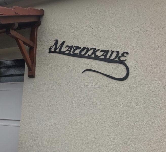 Création d'un nom de maison par notre client à partir de nos lettres . localisation Oise