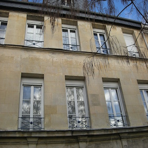Photographie d'un Appui de fenêtre en fer forgé