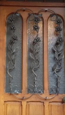Photographie d'une Grille en fer forgé