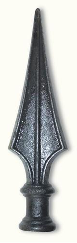 Pointe de lance Ø39 en fonte aciérée