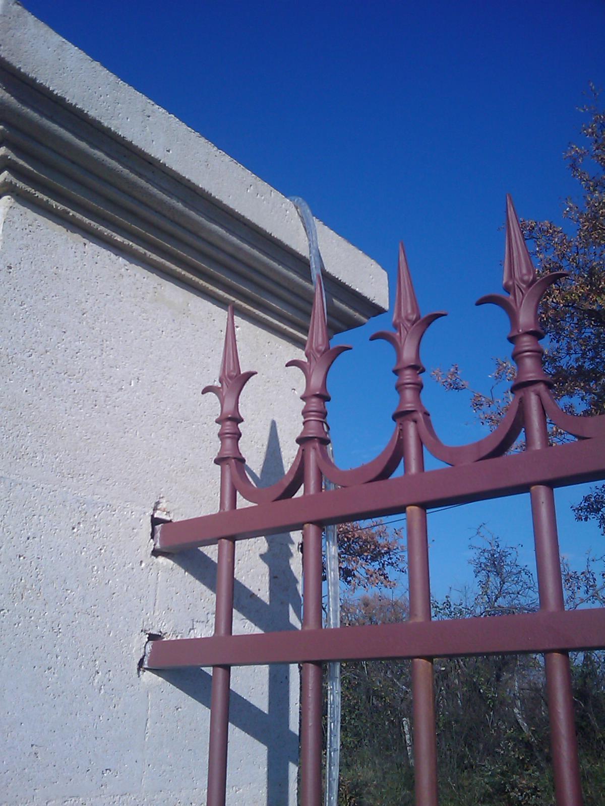 Pointe de lance Ø38 en fonte aciérée