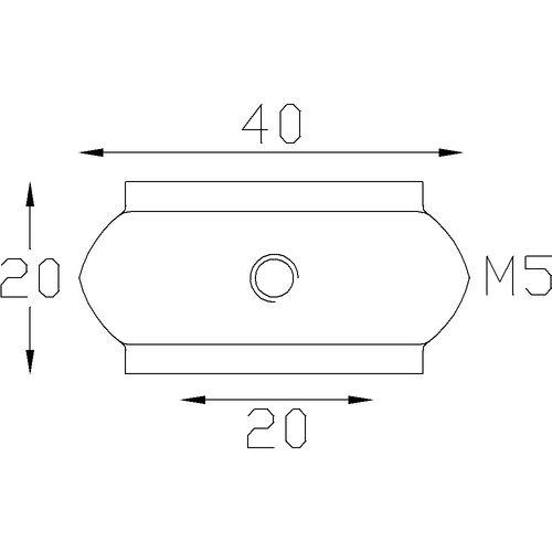 Garniture pour barreaux carré de 20