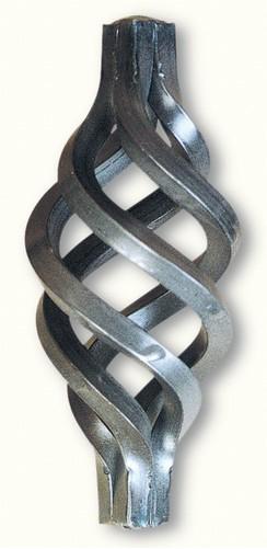 Torsades pour un barreau carré de 16mm
