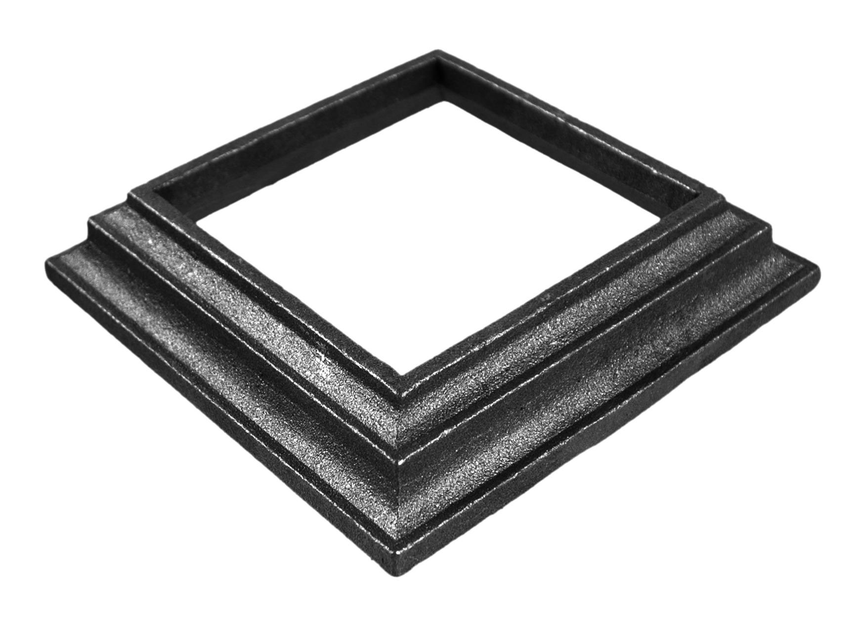 cache scellement pour carré 100x100 mm