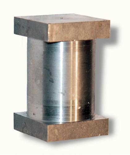Axe pour tube Ø 35 mm