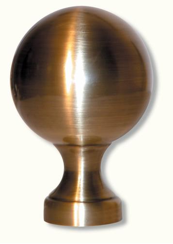 Boule pour rampe en laiton H130 Ø 88