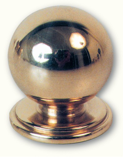 Boule pour rampe en laiton H25 Ø 20