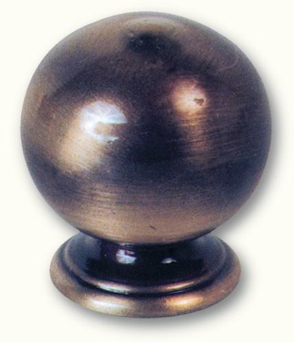 Boule pour rampe en laiton H35 Ø25