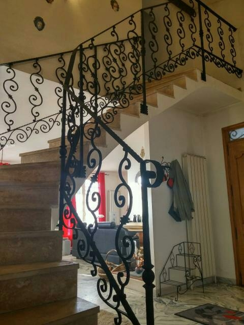 d cor volutes 740x150 chez d co fer forg. Black Bedroom Furniture Sets. Home Design Ideas