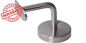 Support mural 90° - pour Tube Ø42.4 - INOX 316