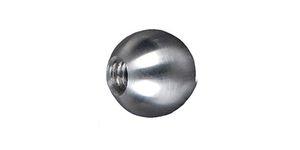 Boule INOX d.15 mm taraudée M6