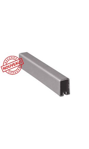 Profil encadrement rectangle 18x12 pour tole INOX 304