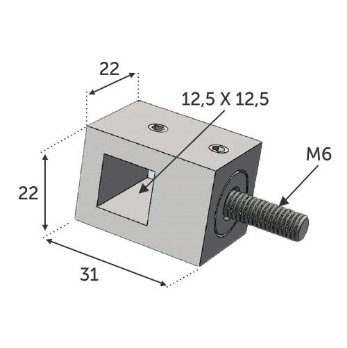 Connecteur perçage [12]