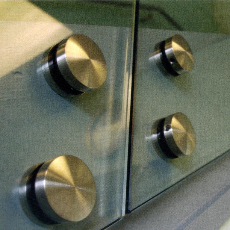 Entretoise ø 50 mm fixation à l'anglaise verre