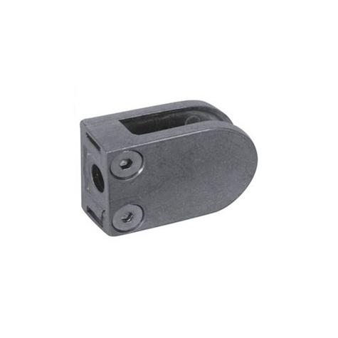 Pince à Verre 26x41 - Fixation sur plat - Zamac Brut