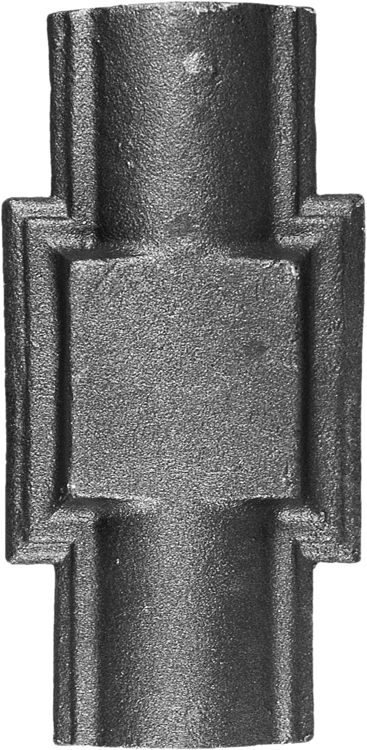 Jonction 75X150 fer forgé
