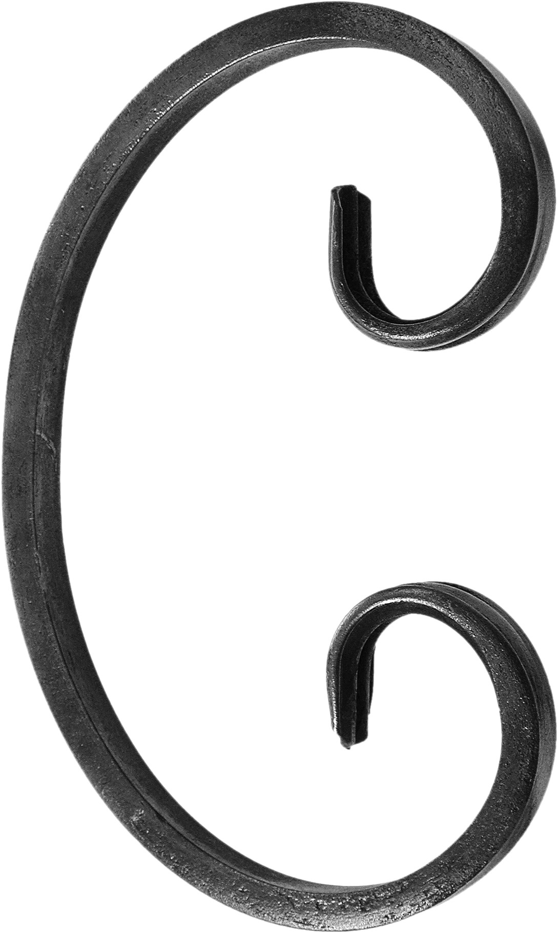 Volute forme C 100 X 60 mm