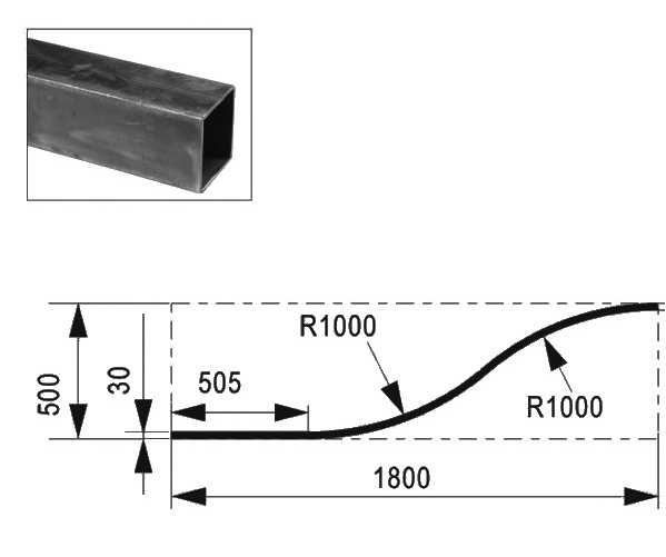 Profilé 1800mm