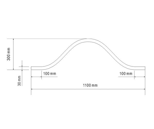 Profilé 1100mm