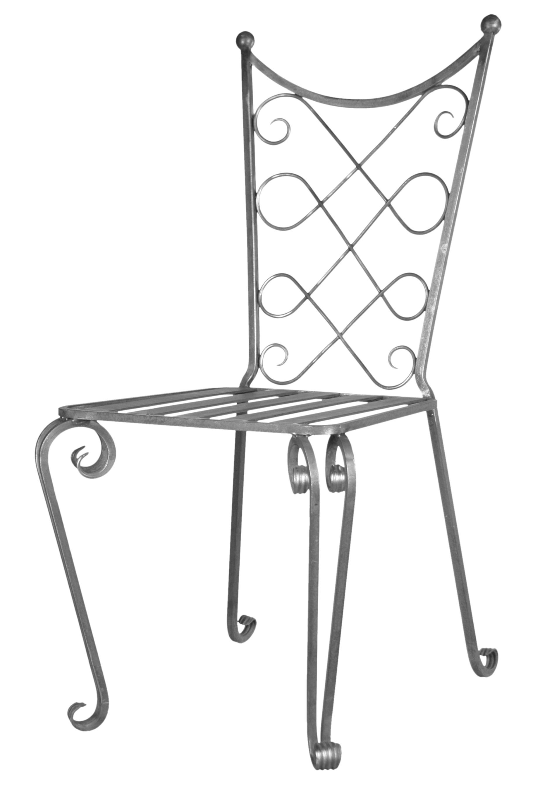 Chaise en fer forgé en kit à fabriquer