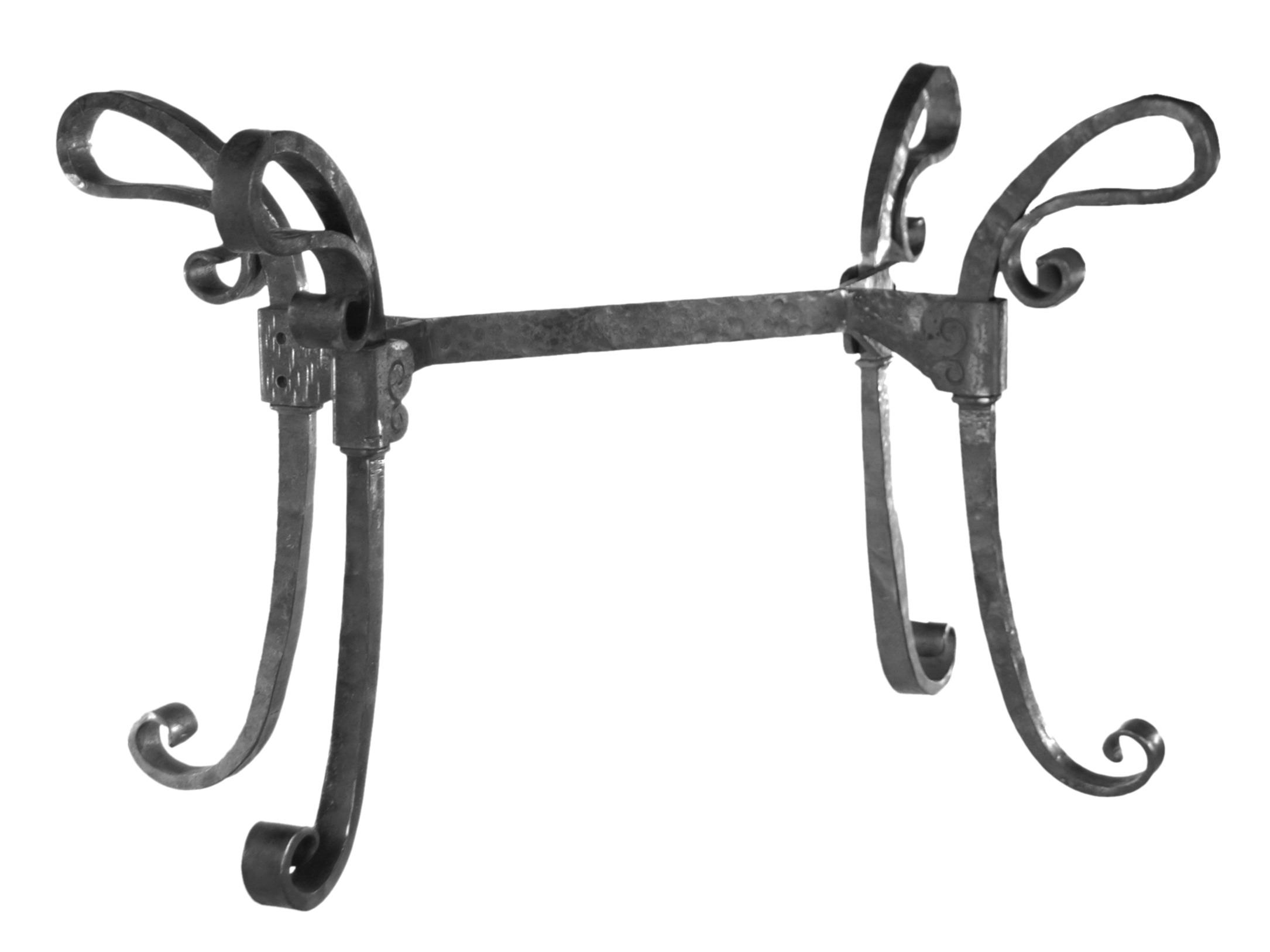 Table en fer forgé en kit à fabriquer 4 pieds
