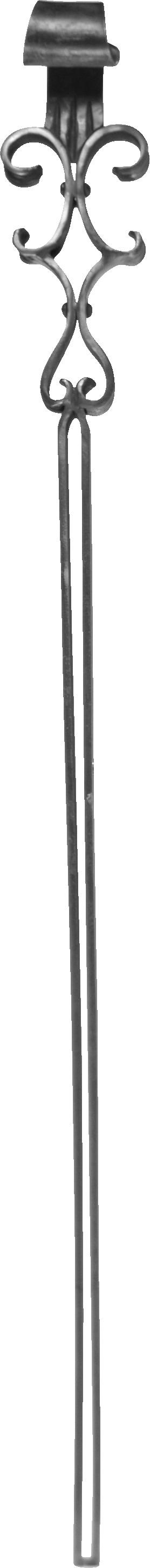 Volute pour pieds de table 1265X125