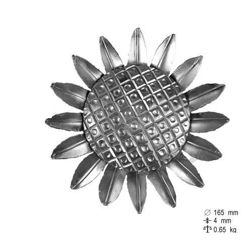 Décor fleur de tournesol Ø 165