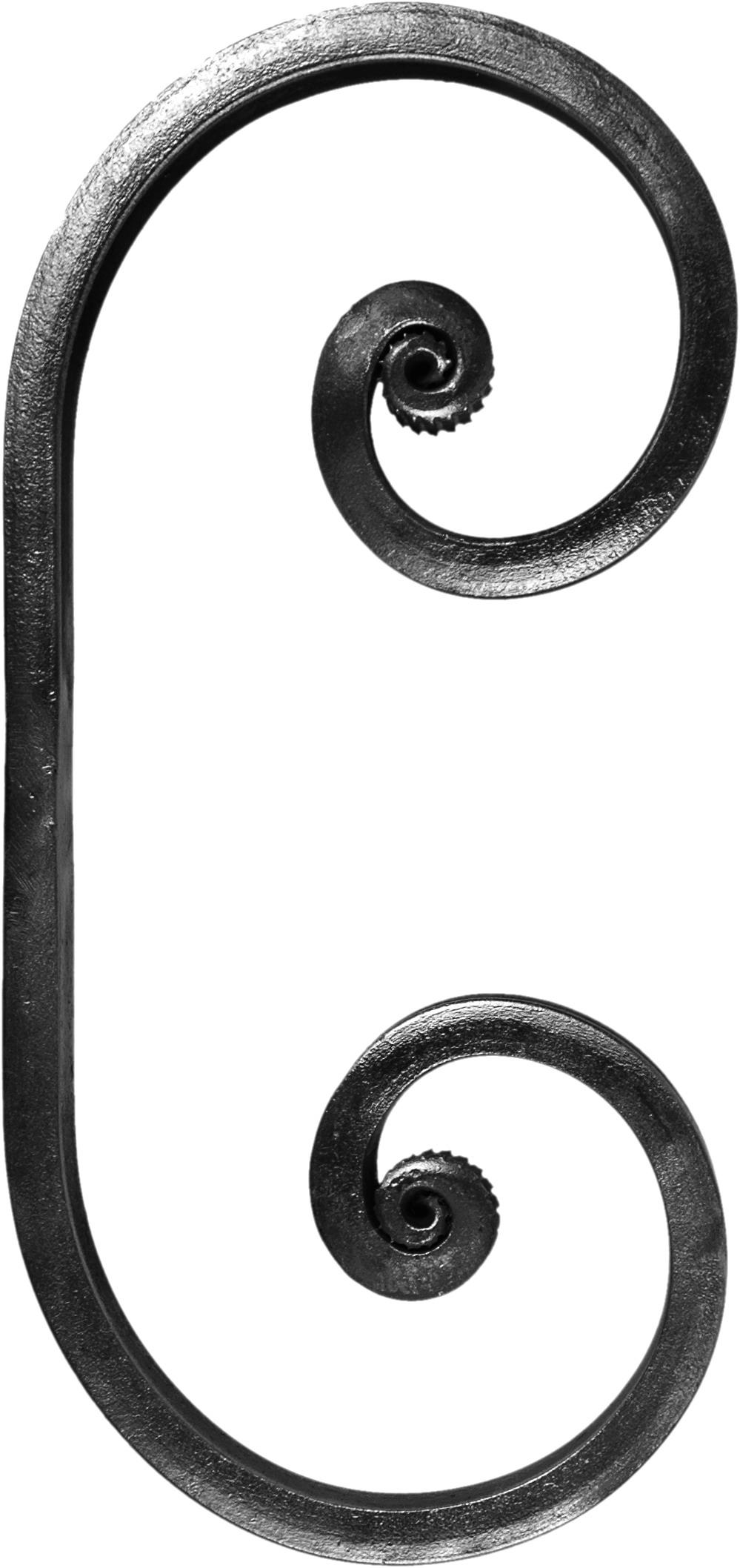 Volute forme C 210 X 100