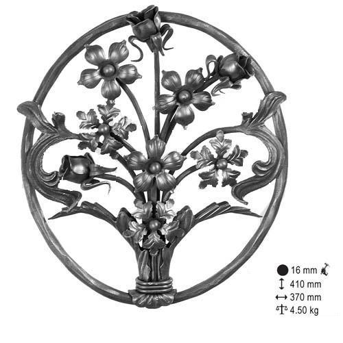 Panneaux floral 410x370
