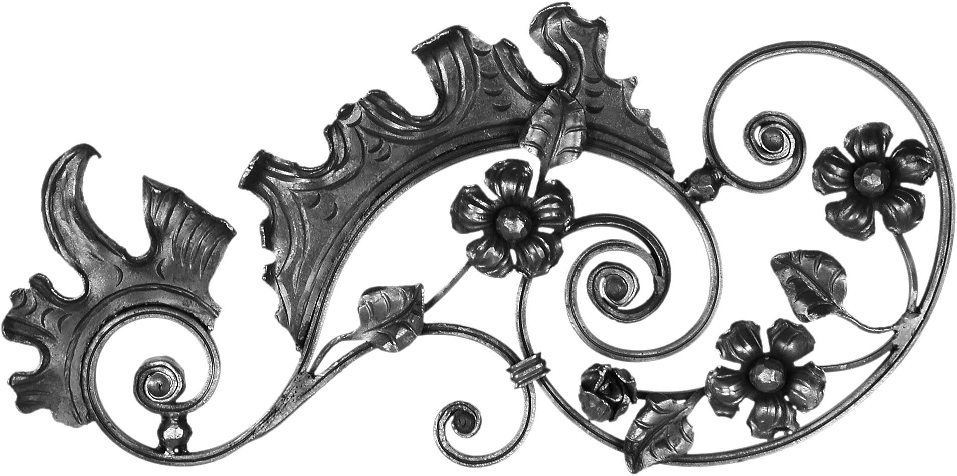Dessus de portails 285x600 - Gauche
