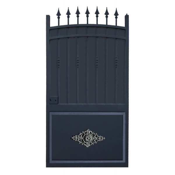 portillon mod le provence plein chez d co fer forg. Black Bedroom Furniture Sets. Home Design Ideas