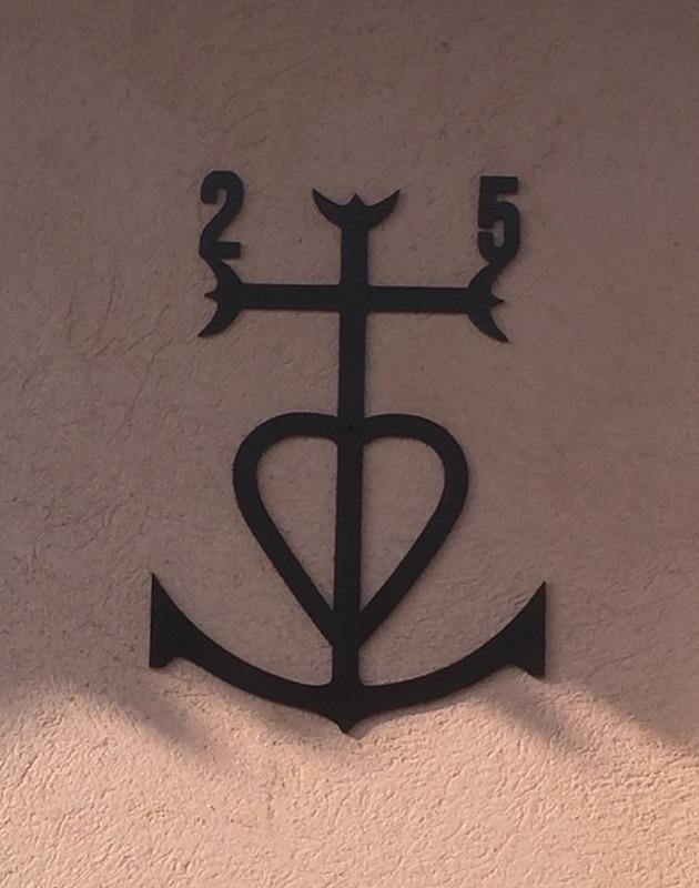 Croix de camargue avec chiffres