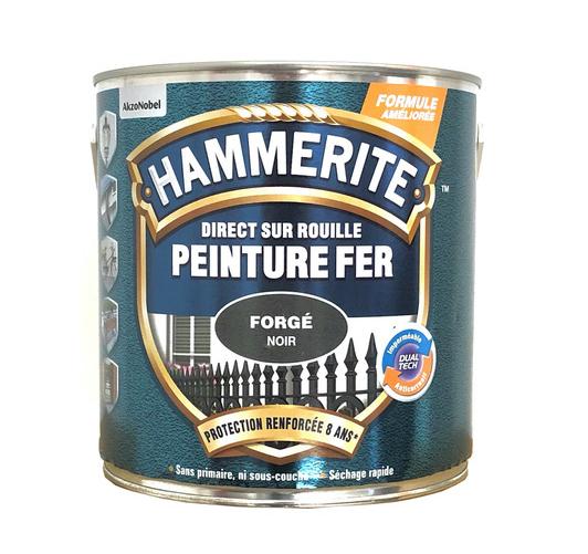 Peinture Hammerite Noir forgé 2,5 Litre