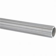 Tube Fût alu cannelé H2500 - Ø80 -ép. 8