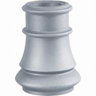 Base ou chapiteau alu 240x145 pour Fût Ø80