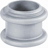 Rondelle alu 100x125 pour tube Fût lisse Ø100