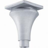 Base ou chapiteau alu 235x180 pour Fût Ø80