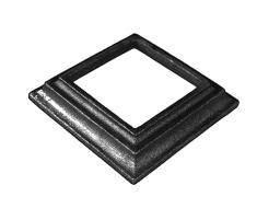 Cache scellement pour carré de 60mm