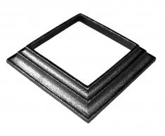 Cache scellement pour carré 80x80mm