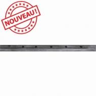 Profilé Droit 40x30 x2,5 percé long 2000 mm