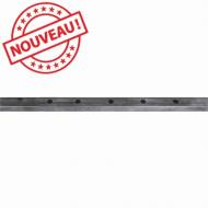 Profilé Droit 40x30 x2,5 percé long 2000mm