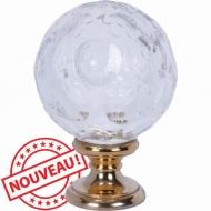Boule en cristal soufflé