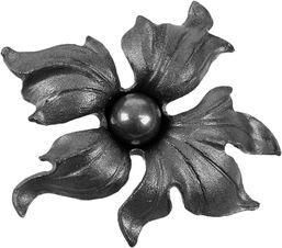 Décor fleur 145x135