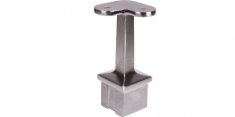 Support main courante Tube carré 40x40 90°- INOX 316