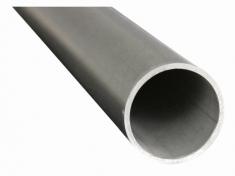 Tube inox brossé Ø42,4 1M50 - Inox 316