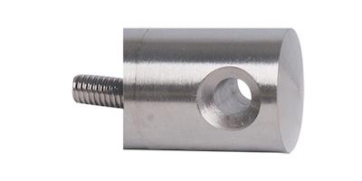 Connecteur en applique pour cable ø4 et  ø6