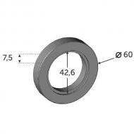 Bague support tube 42.4 à souder ø60 INOX 304